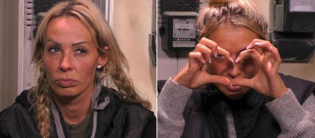 Cora Schumacher flog ausgerechnet gegen Chethrin Schulze raus