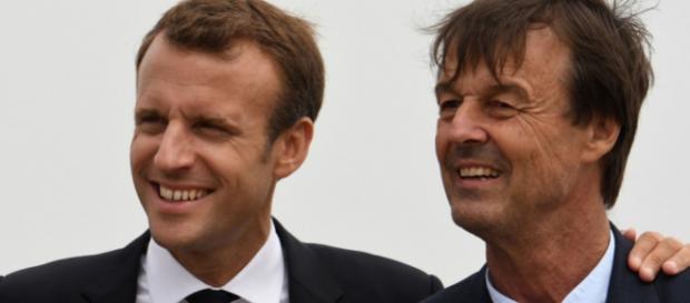 Emmanuel Macron ' respecte ' le choix de Nicolas Hulot