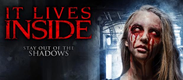 """""""It Lives Inside"""" is a horror movie by Sean Bingham and Jeff Hall. / Image via Clint Morris, October Coast PR, used with permission."""