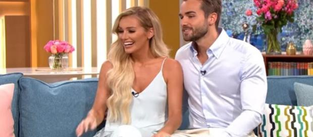 Love Island's Laura Anderson spilts from Paul Knops - Image credit - This Morning | YouTube