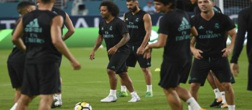 El Madrid sigue su preparación en Miami