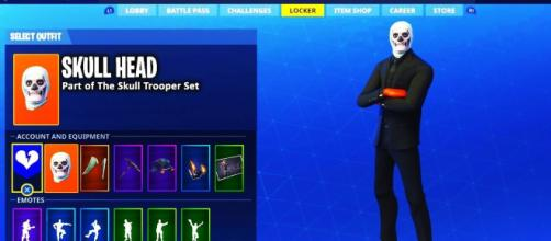 New cosmetic items will allow 'Fortnite' players to change head accessory. [Image Credit: USK Gaming/YouTube]