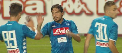 Simone Verdi, attaccante esterno del Napoli