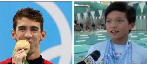Un niño de tan solo 10 años superó el record del legendario de Baltimore, Michael Phelps