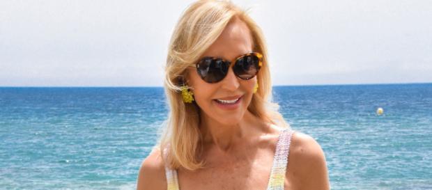 Carmen Lomana festeja su cumpleaños número 70 en Marbella