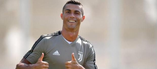 Cristiano Ronaldo destaca en los entrenamientos de la Juventus de Turín