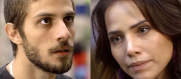 ícaro e Rosa na novela 'Segundo Sol'