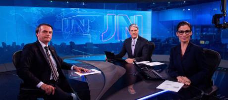 Bolsonaro no JN: crescimento nas redes sociais
