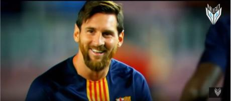 Leo Messi [Imagem via YouTube/NugoBasilaiaa]