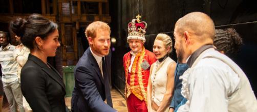El Príncipe Harry cantó un fragmento de una canción en la obra Hamilton