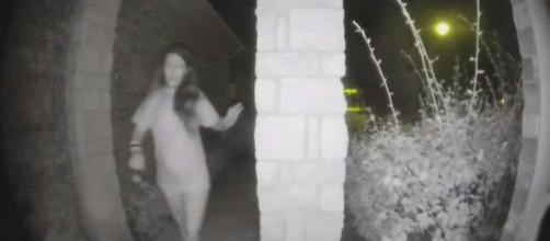 Police have found the mystery woman who rang doorbells late at night. [Image Inside Edition/YouTube]