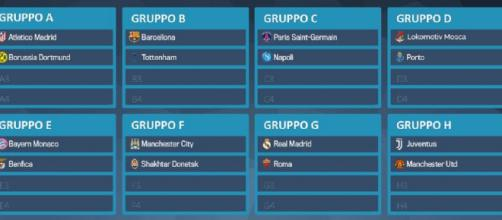 Sorteggi Champions League 2018-2019