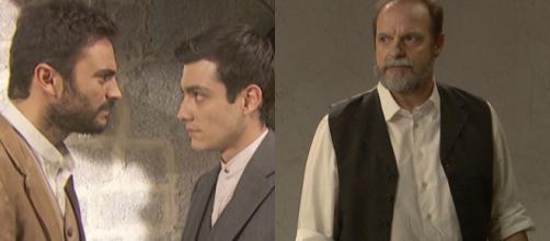 Trame Il Segreto: Prudencio ritrova Saul, Raimundo in pericolo, Tiburcio in crisi