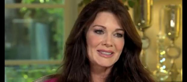 Bravo network reality star Lisa Vanderpump and husband Ken celebrated their 36-year wedding anniversary. [Image Source: ABC News - YouTube]