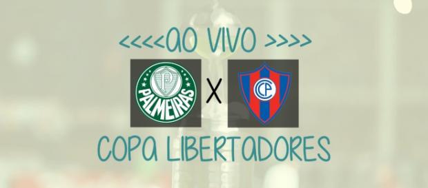 Libertadores: Palmeiras x Cerro Porteño ao vivo