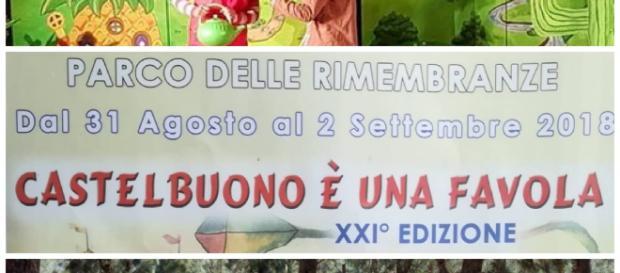 """Locandina rassegna teatrale """"Castelbuono è una favola"""" - XXI edizione"""