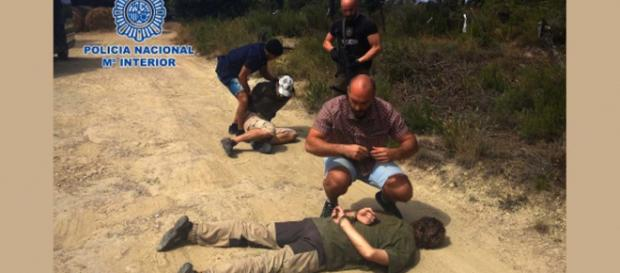 Spanish National Police arrest suspect in rape and murder of boy in 1998. [Image Policia Nacional]
