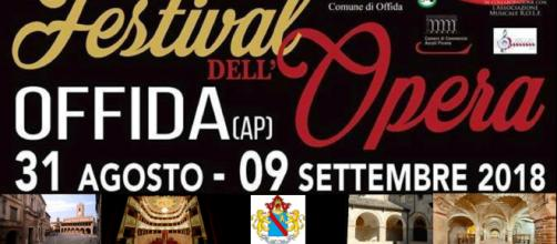 Festival dell'Opera a Offida (AP) 31 agosto - 9 settembre 2018