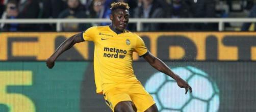 Moise Kean, jeune recrue de 18 ans, va rester à la Juventus cet été.