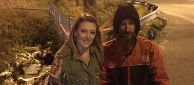 Homeless veteran sues couple who ran a crowdfunding campaign, but failed to give him all the money. {Image @wsvn/Twitter]