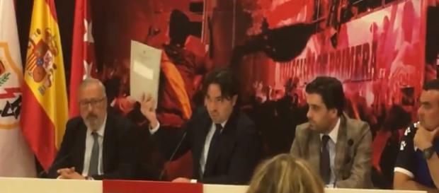 Raúl Martín Presa durante su comparecencia