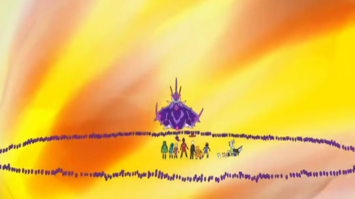 Pokemon Sun and Moon Episode 88: Necrozma returns to Ultra Hole after  possessing Solgaleo