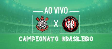 Campeonato Brasileiro: Corinthians x Atlético-PR ao vivo