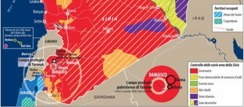 La situazione siriana vede Russia, Iran, Israele e Turchia contrapposti su diversi piani
