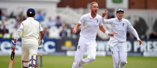 Highlights : England v India, 1st Investec Test, (Image via ICC/Twitter)