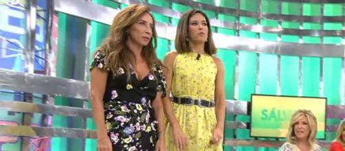 Nuria Marín y María Patiño protagonizan su primer conflicto en plató, el motivo los tobillos