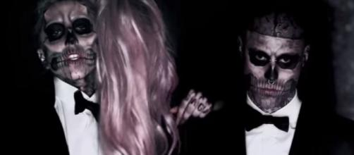 Rick Genest, a.k.a Zombie Man dies by suicide Lady Gaga mourns - Image credit - Lady Gaga | YouTube