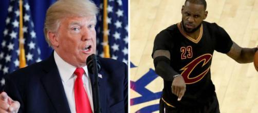 Trump ataca a james en Twitter