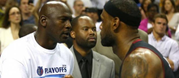 Michael Jordan comes to LeBron James' defense after Donald Trump insults [Image by sportsvolt / Instagram]