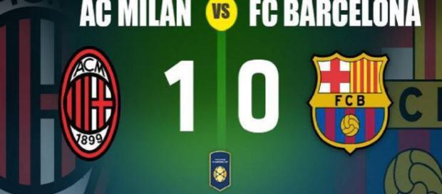 Milan derrota al FC Barcelona en la ICC