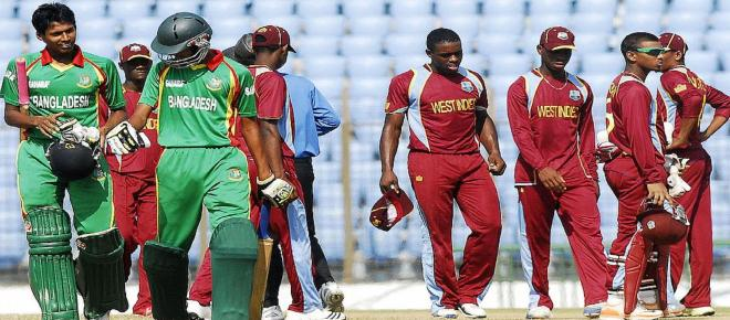 Highlights: Bangladesh beat West Indies in 2nd T20 by 14 runs in Florida