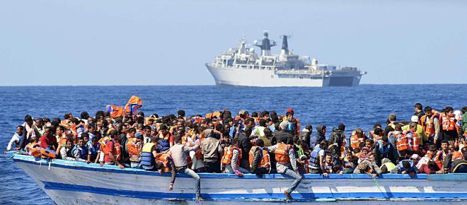 Más de 1.500 migrantes han fallecido en aguas del Mediterráneo durante 2018