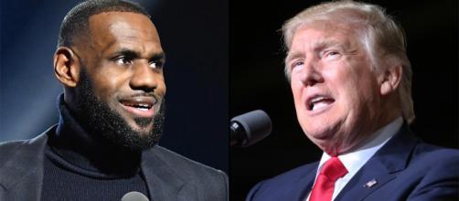 Donald Trump contro LeBron James