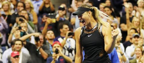 us Open Women's draw seems to have opened up for Maria Sharapova. Picture courtesy of Page Six - pagesix.com