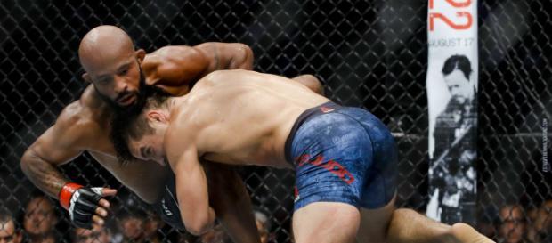 Los derribes fueron la clave para Cejudo. UFC.com.