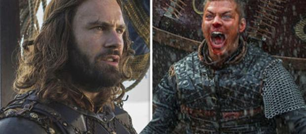 Rollo e Ivar, personagens da série Vikings