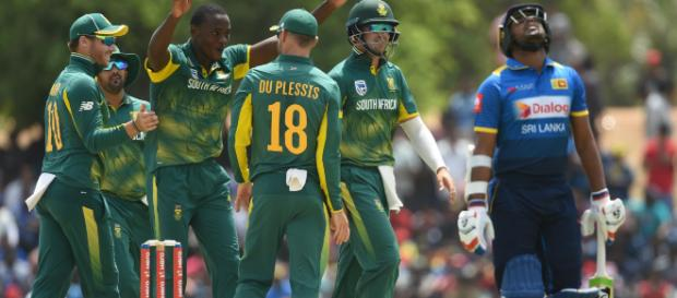 Sri Lanka look to hit back against upbeat South Africa - (icc-cricket/Twitter)