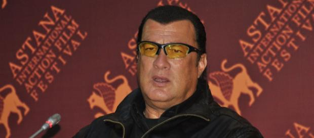 Steven Seagal at Astana Action Film Festival, 2011. [Image courtesy – K Zhestovskaya, Wikimedia Commons]