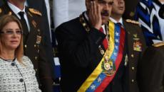 Atentado frustrado contra Nicolás Maduro mientras pronunciaba un discurso