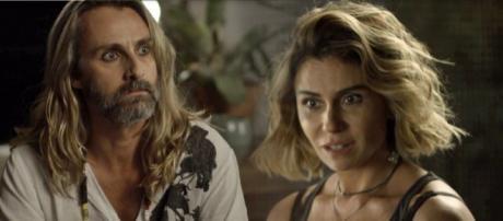 Luzia começa a desaconfiar que seu filho com Beto Falcão não morreu
