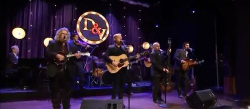 Dailey and Vincent brought blugrass mastery and intimate warmth to the stage of the Texas Opry Theater. - [Dailey Vincent / YouTube screencap]