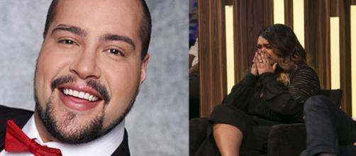 Tiago Abravanel e Preta Gil (Foto:Reprodução)