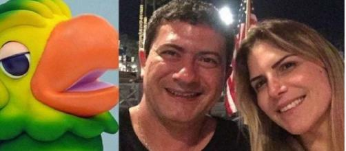Tom Veiga, que dá vida ao Louro José, recebeu comunicado de separação da esposa