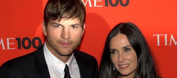 Actor Ashton Kutcher is just one of many men who married a woman a bit older than himself. - [David Shankbone / Wikimedia Commons]