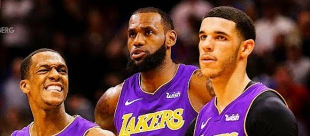 LeBron James and the Lakers will qualify for the 2019 NBA Playoffs, based on projected win totals. - [CliveNBAParody /YouTube screencap]