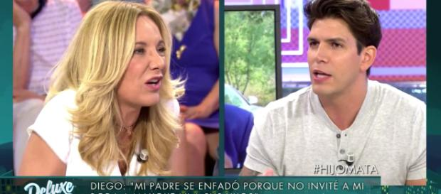 Sábado Deluxe: Diego Matamoros confiesa que su papá tuvo un affaire con Belén Rodríguez